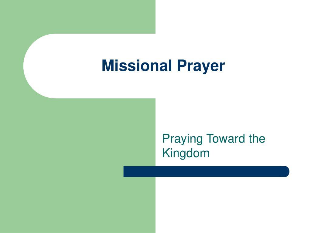 missional prayer l.