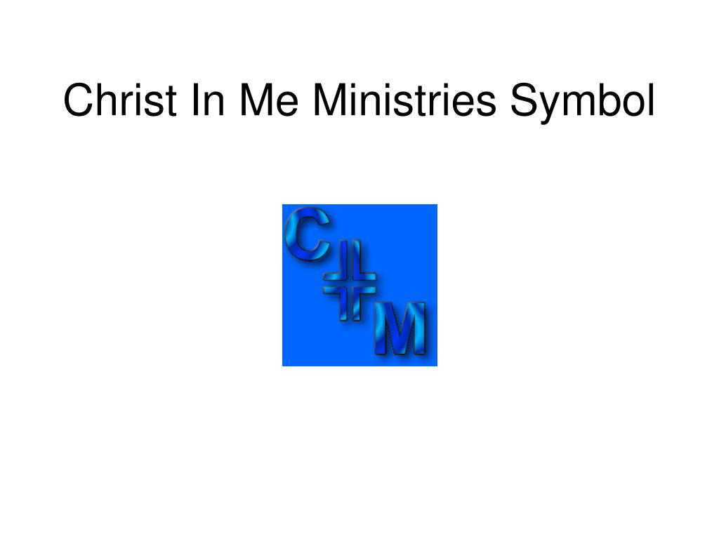 Christ In Me Ministries Symbol