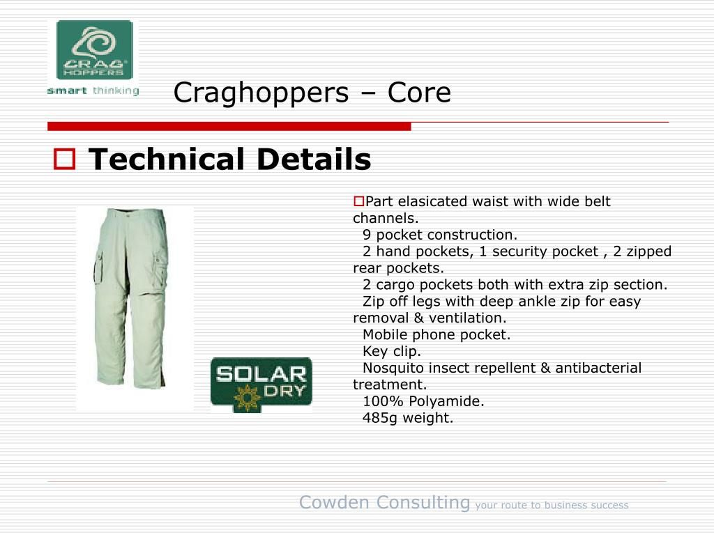 Craghoppers – Core