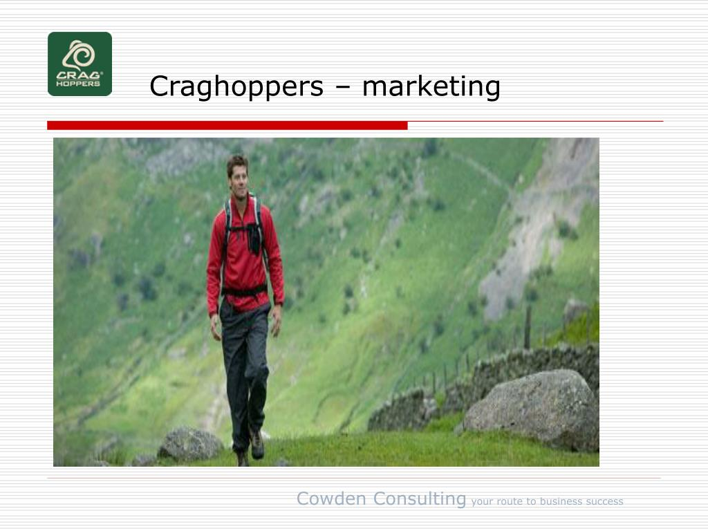 Craghoppers – marketing