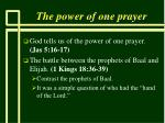 the power of one prayer17