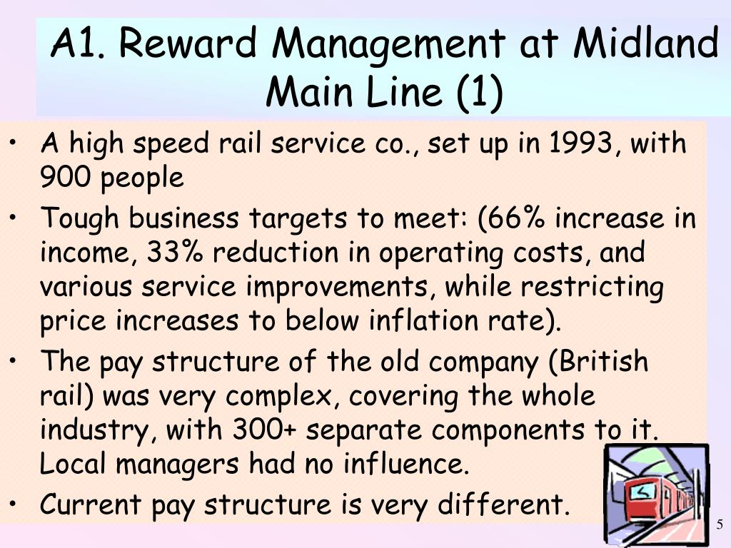 A1. Reward Management at Midland Main Line (1)