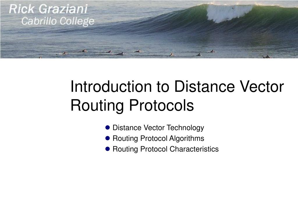 Introduction to Distance Vector Routing Protocols