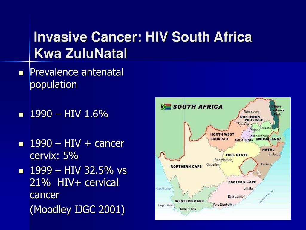Invasive Cancer: HIV South Africa