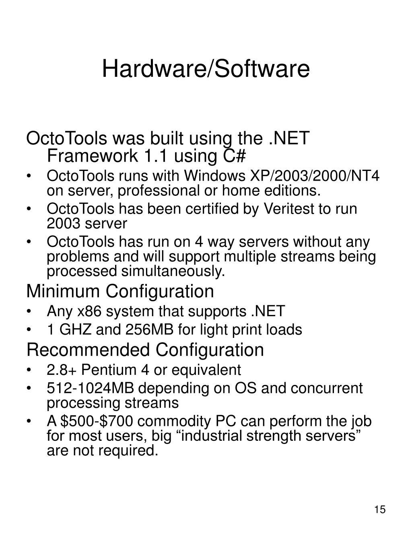 Hardware/Software
