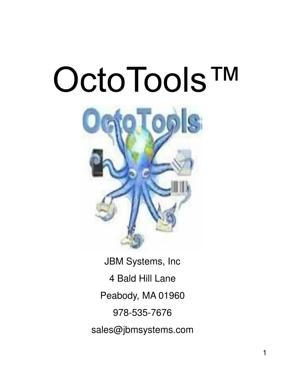 OctoTools™