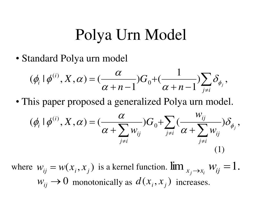 Polya Urn Model