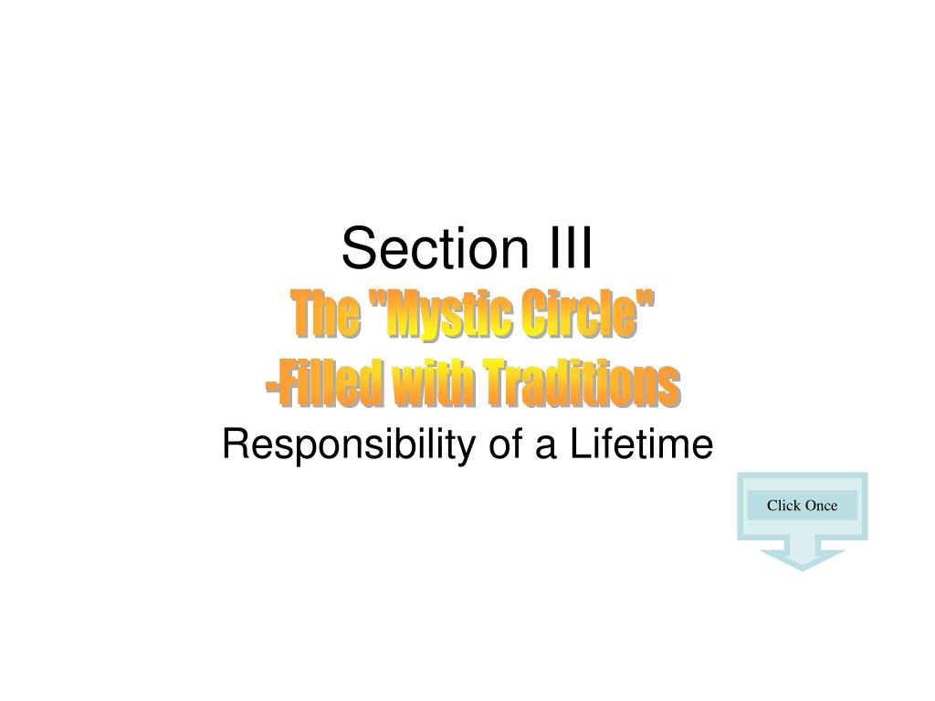 section iii l.