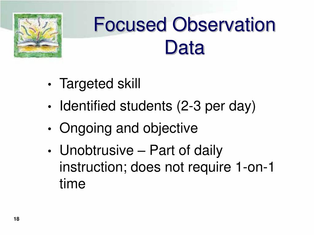 Focused Observation Data