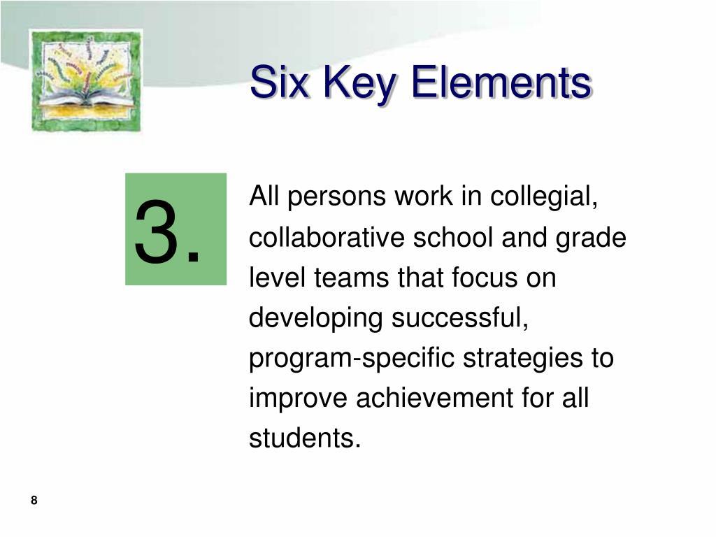 Six Key Elements
