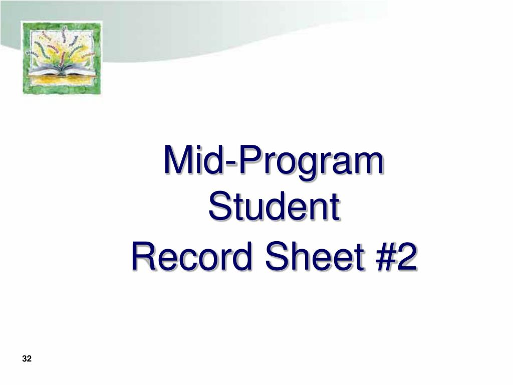 Mid-Program Student