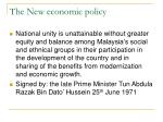 the new economic policy11