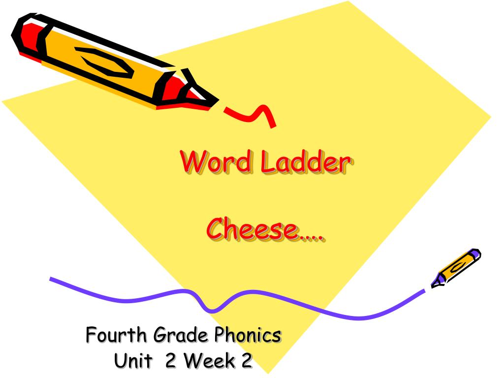word ladder cheese