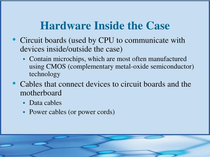 Hardware Inside the Case