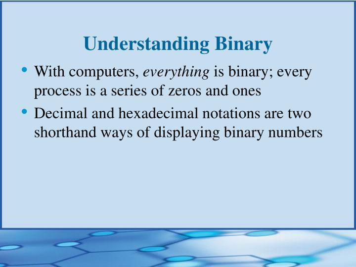 Understanding Binary