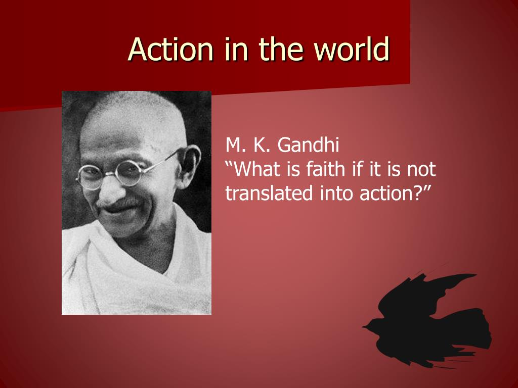 Action in the world