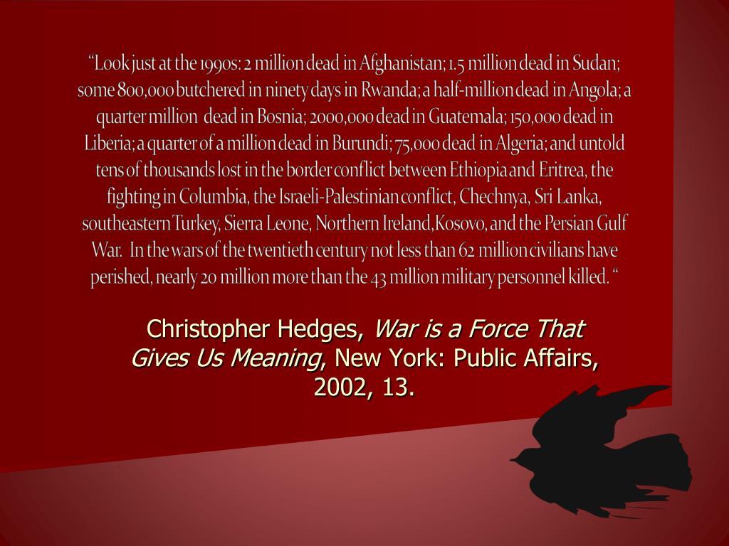 Christopher Hedges,