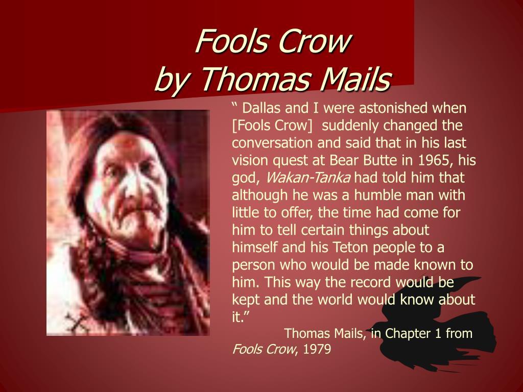 fools crow paper 1