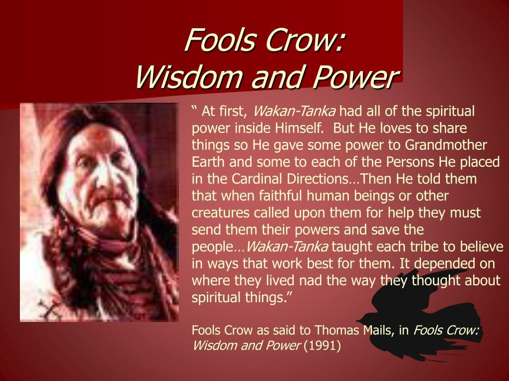 Fools Crow: