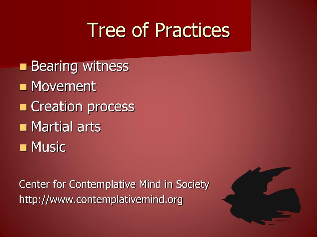 Tree of Practices