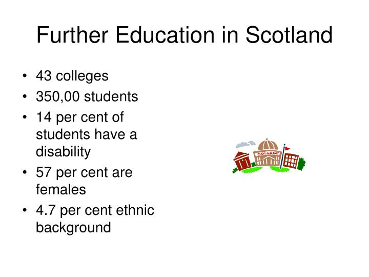 Further education in scotland