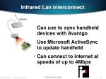 infrared lan interconnect