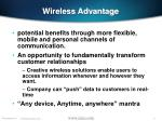 wireless advantage