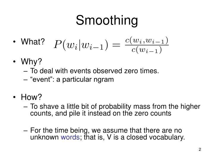 Smoothing2