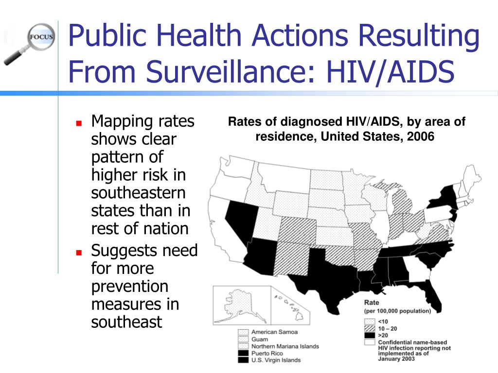 Mapping rates shows clear pattern of higher risk in southeastern states than in rest of nation
