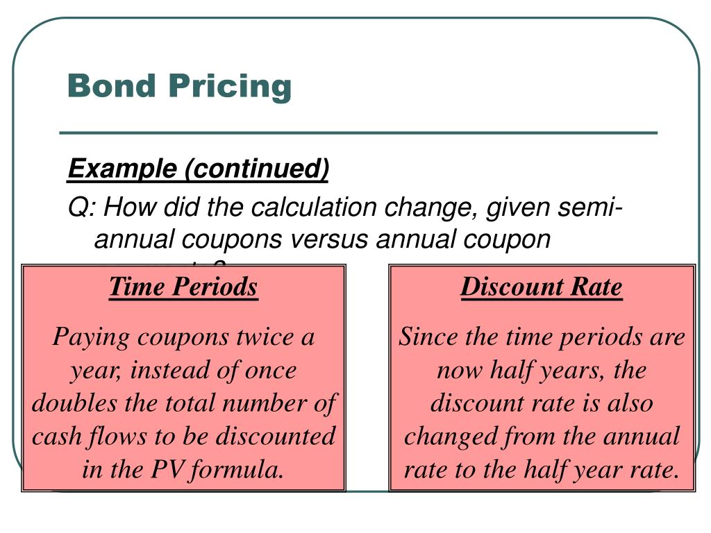 Bond Pricing