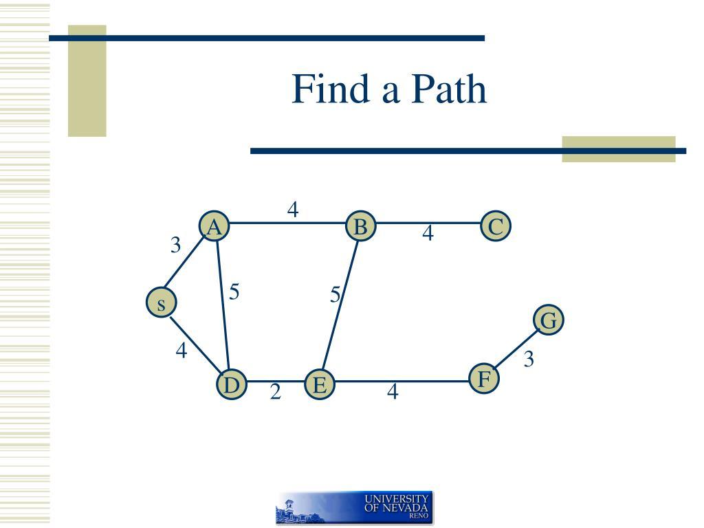 find a path l.