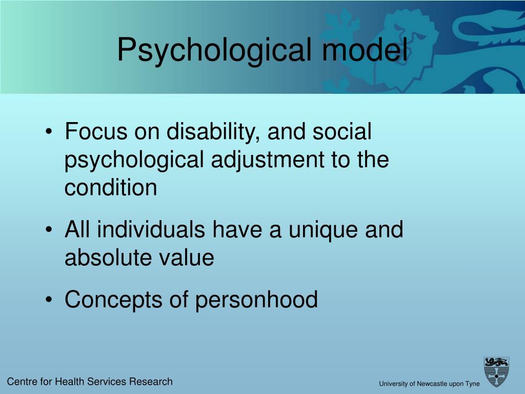 Psychological model