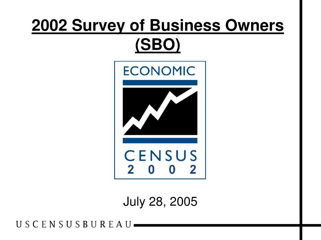 2002 survey of business owners sbo l.
