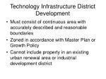 technology infrastructure district development6