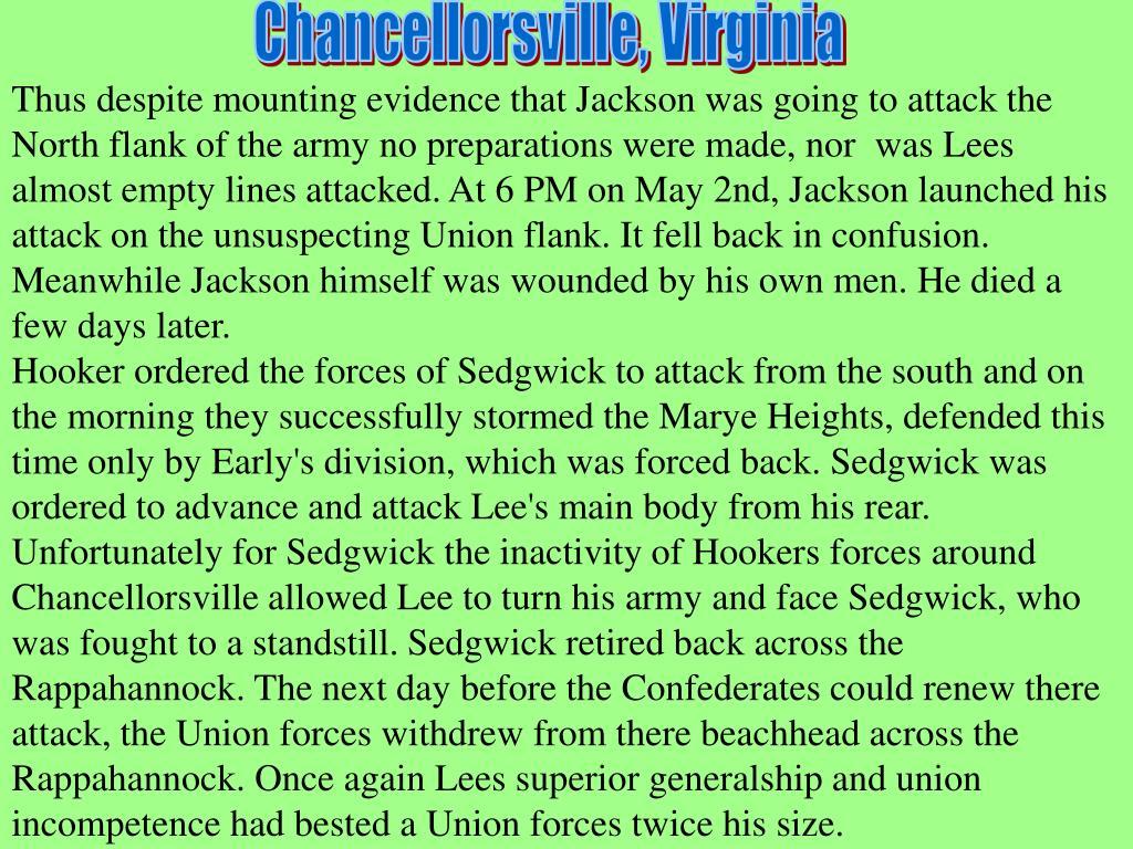 Chancellorsville, Virginia