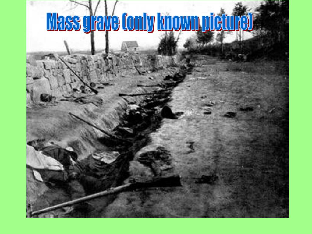 Mass grave (only known picture)