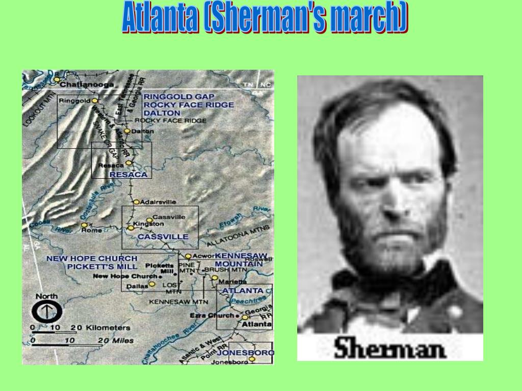 Atlanta (Sherman's march)