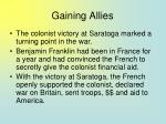 gaining allies101
