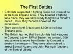 the first battles53