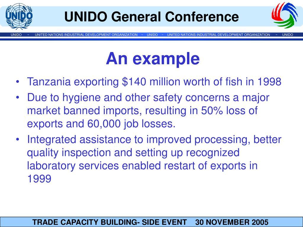 Tanzania exporting $140 million worth of fish in 1998