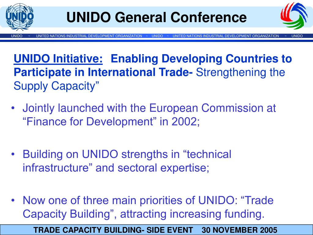 """Jointly launched with the European Commission at """"Finance for Development"""" in 2002;"""