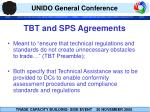 tbt and sps agreements