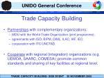 trade capacity b uilding