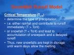 snowmelt runoff model76