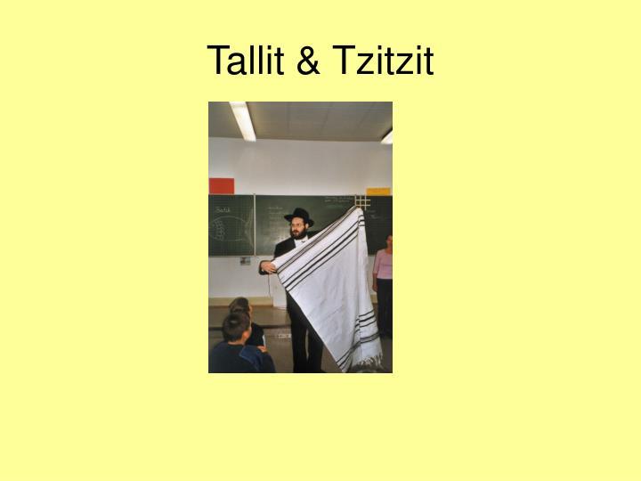Tallit & Tzitzit