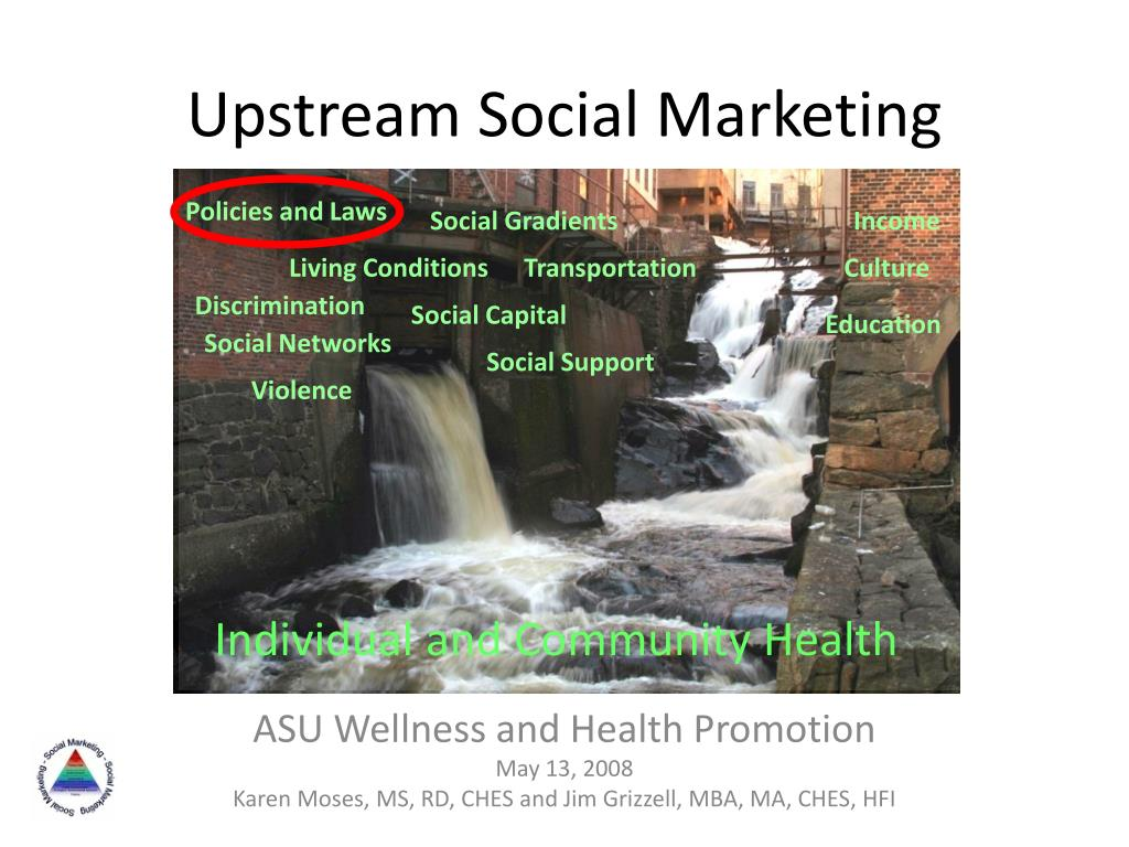 upstream social marketing l.