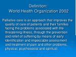 definition world health organization 2002