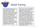global training
