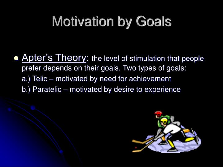 Motivation by Goals