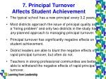 7 principal turnover affects student achievement